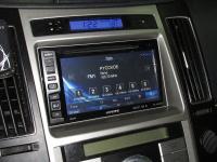 Фотография установки магнитолы Alpine INE-W990BT в Hyundai ix55