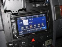 Фотография установки магнитолы Alpine INE-W920R в Volkswagen Touareg