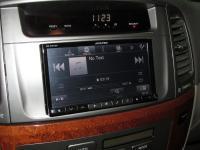 Фотография установки магнитолы Alpine INE-W977BT в Lexus LX 470