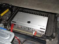 Установка усилителя JL Audio 500/1v2 в Volvo XC90