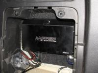 Установка усилителя Audio System M 80.4 в SsangYong Kyron