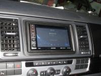 Фотография установки магнитолы Alpine INE-W990BT в Volkswagen Multivan T6