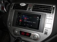 Фотография установки магнитолы Pioneer AVH-170 в Ford Galaxy