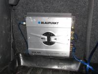 Установка усилителя Blaupunkt GTA 250 в Hyundai Accent
