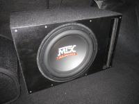 Установка сабвуфера MTX RT12-04 vented box в Lada Granta Sport
