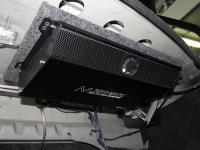 Установка усилителя Audio System M 80.4 в Lada Granta Sport