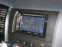 Фотография установки магнитолы Alpine INE-W990BT в Toyota Tundra II