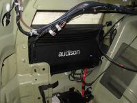 Установка усилителя Audison SR 4 в Mitsubishi Pajero Sport