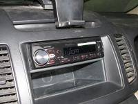 Фотография установки магнитолы Pioneer MVH-X380BT в Nissan Serena