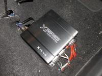 Установка усилителя Audio System X 75.4 D в Mitsubishi ASX