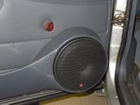 Установка акустики Morel Maximo Coax 6 в Daewoo Nexia