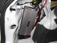 Установка усилителя DLS CC-44 в Audi A3 (8P)