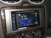 Фотография установки магнитолы Pioneer AVH-X2800BT в Ford Focus 2