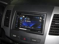 Фотография установки магнитолы Pioneer AVH-X1800DVD в Peugeot 4007