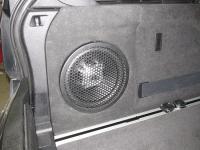 Установка сабвуфера JBL GT5-10 в BMW X5 (F15)