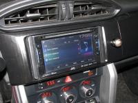 Фотография установки магнитолы JVC KW-V21BTEE в Toyota GT86