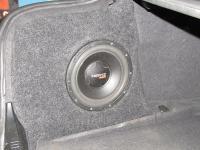 Установка сабвуфера Hertz ES 250 в BMW 5 (E60)