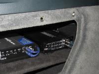 Установка усилителя Audio System X 75.4 D в Porsche Cayenne
