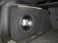 Установка сабвуфера JBL GT5-10 в BMW GT3 (F34)