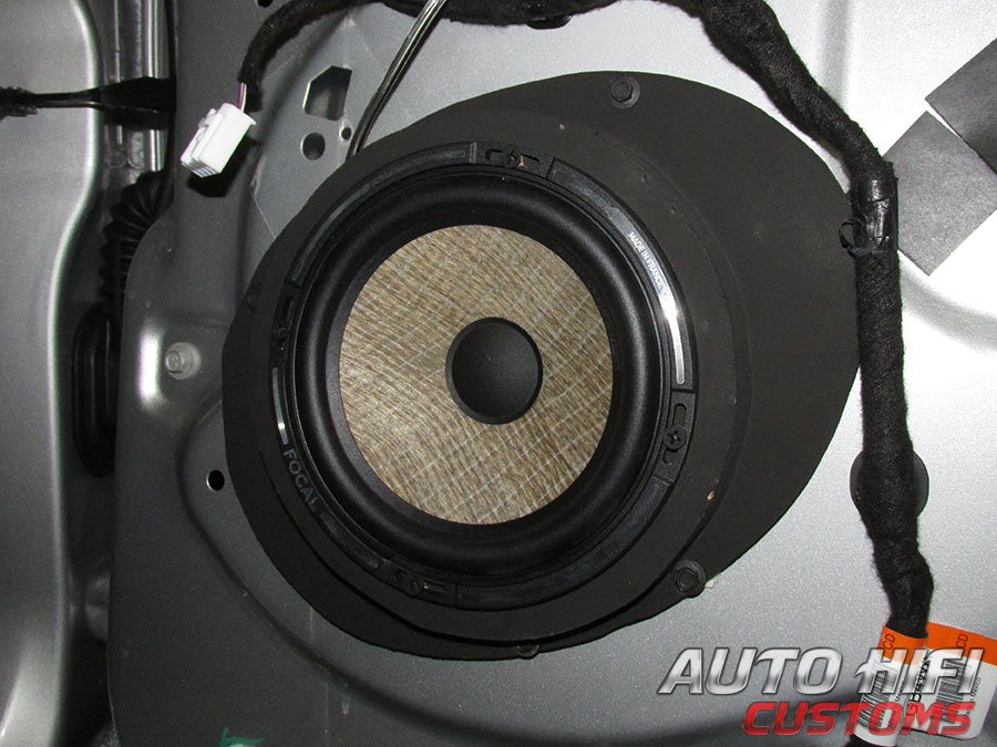 Установка акустики Focal Performance PS 165 F в Ford Explorer V